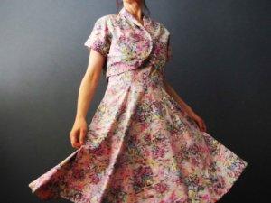 50's dress and bolero